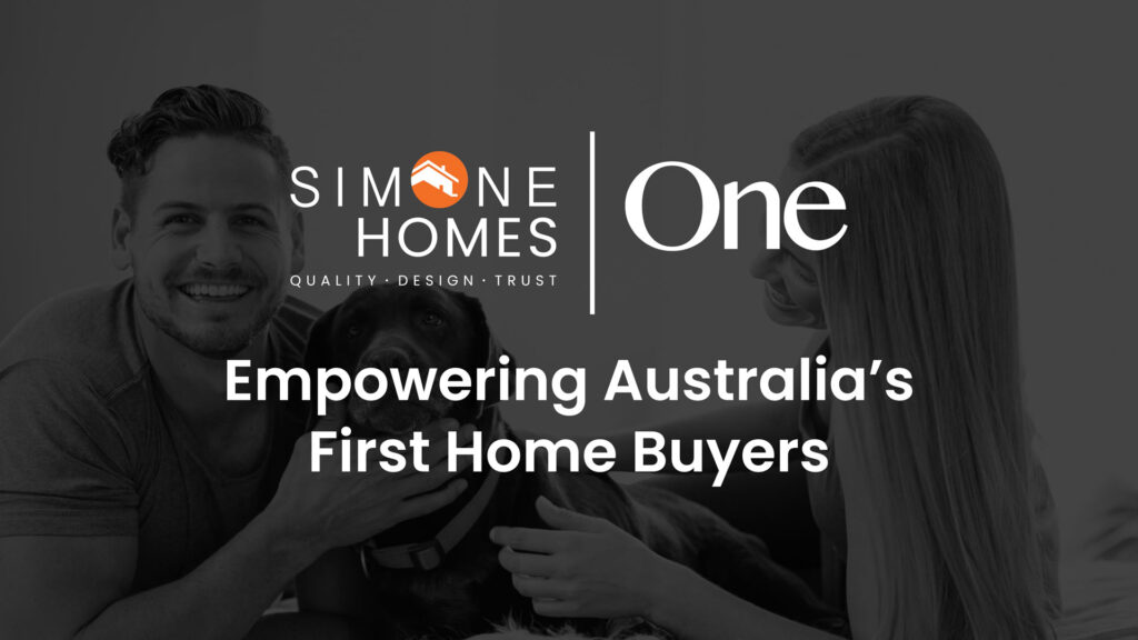 , First Home Buyer, Simone Homes